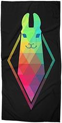 Awe Sim Llama Beach Towel