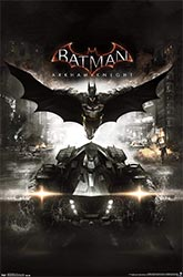 Batman Arkham Knight Cover Wall Poster