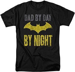 Batman Dad By Day T Shirt For Fathers Day