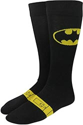 Batman Logo Utility Belt Crew Socks