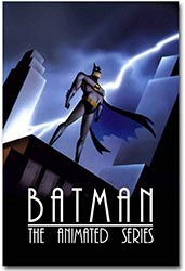 Batman The Animated Series Art Paper Poster