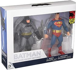 Dc Collectibles The Dark Knight Returns 30th Anniversary Superman And Batman Action Figures