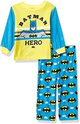 Dc Comics Boys Batman 2 Piece Pajama Set
