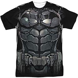 Dc Comics Costume Batman Arkham Knight All Over Front Back T Shirt