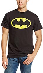 Dc Comics Mens Batman Basic Logo T Shirt