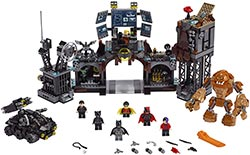 Lego Dc Batman Batcave Clayface Invasion Batman Toy Building Kit With Batman And Bruce Wayne Action Minifigures