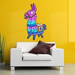 Llama Pinata Fortnite Vinyl Wall Decal