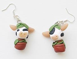 Sims 4 Cowplant Earrings
