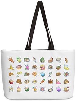 Tasty Treats Weekender Bag