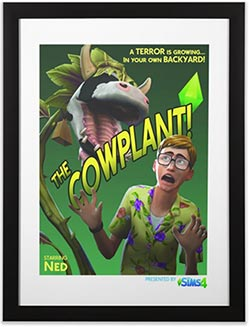 The Cowplant Movie Poster Print