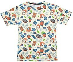 The Sims Simlish Patterned Tee