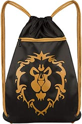 Wow Alliance Drawstring Backpack