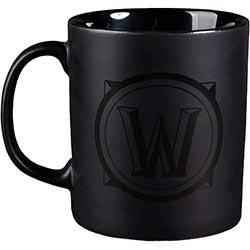 Wow Blackout Ceramic Coffee Mug
