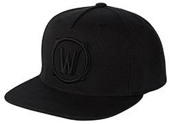 Wow Blackout Logo Snapback Hat