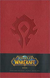 Wow Horde Hardcover Ruled Journal