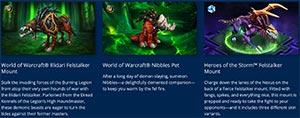 Wow Legion Digital Deluxe Item Bundle