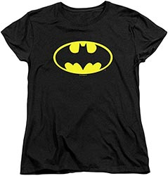 Womens Batman Classic Logo T Shirt