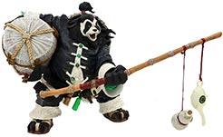 World Of Warcraft Pandaren Brewmaster Deluxe Action Figure