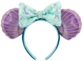 30th Anniversary Little Mermaid Mouse Ears