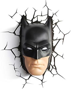 3d Lightfx Warner Bros Dc Comics Batman Mask