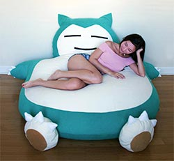 6 Foot Snorlax Bed