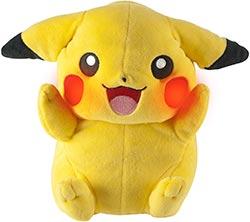 A Pikachu Plush Toy That Lights Up