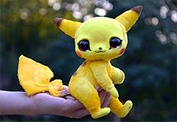 A Realistic Polymer Clay Pikachu