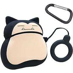 A Snorlax Airpods Holder