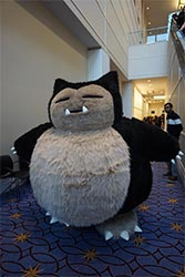 A Snorlax Cosplay Outfit