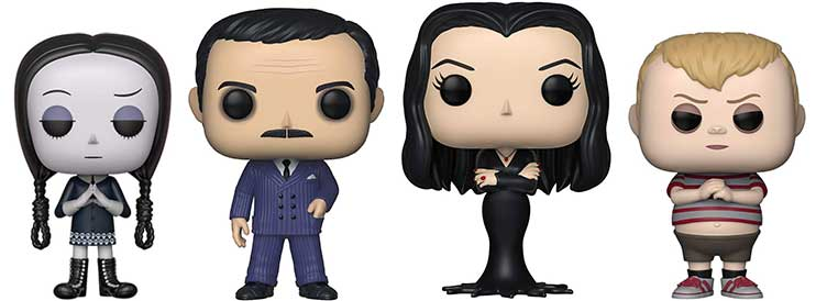 Addams Family Funko Pop Figurines