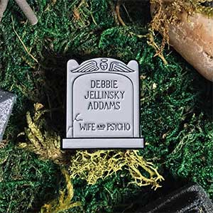 Aunt Debbie Tombstone Enamel Pin