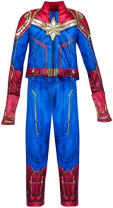 Awesome Captain Marvel Costume For Kids