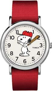 Baseball Snoopy Watch