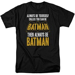 Batman Always Be Yourself Dc Comics T Shirt And Stickers