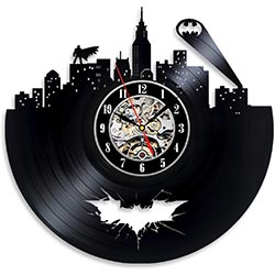 Batman Arkham City Logo Wall Clock