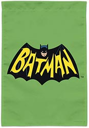 Batman Classic Tv Series Logo Garden Yard Flag