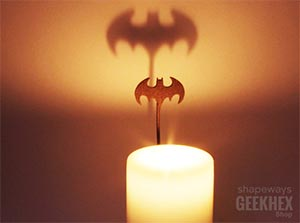 Batman Spotlight Candle Attachment