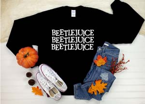 Beetlejuice Beetlejuice Beetlejuice Sweatshirts