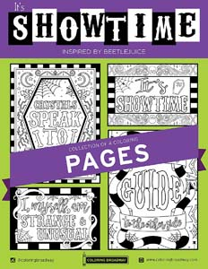 Beetlejuice Coloring Pages For Crafty Fans
