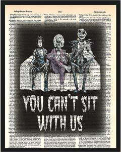 Beetlejuice And Tim Burton Print