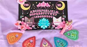 Black Sailor Moon Ouija Board