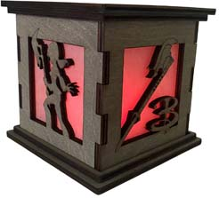 Buffy Led Wooden Display Box