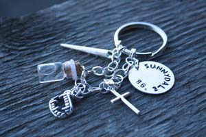 Buffy The Vampire Slayer Inspired Keychain