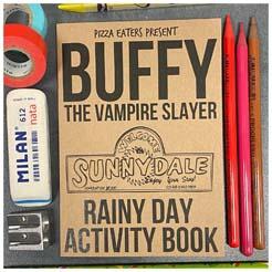 Buffy The Vampire Slayer Rainy Day Colouring And Activity Book