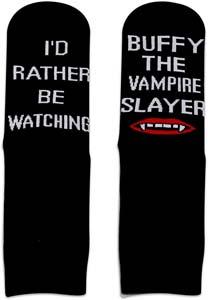 Buffy The Vampire Slayer Socks