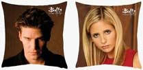 Buffy And Angel Reversible Pillow