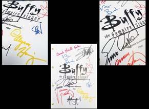 Buffy The Vampire Slayer Signed Pilot Script Reprint