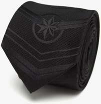 Captain Marvel Black Tie