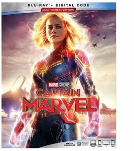 Captain Marvel Blu Ray