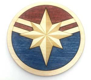 Captain Marvel Coaster